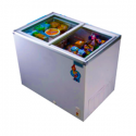 Scanfrost 400 Glass Top Freezer | SFCH400